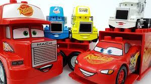 100 Disney Cars Mack Truck Hauler Tomica Lego Learn Colors