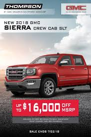 Shop GMC Sierra's At Thompson's Auto In Springfield, MO! Sale Ends 7 ... Trucks For Sale Springfield Mo Used And Preowned Chevrolet At Reliable Cars Trucks Ford Van Box In Mo Service Department Jenkins Diesel Missouri Sterling On Pinegar Buick Gmc Of Branson A Ozark 2015 Western Star 4900sb For Sale In By Dealer New On Cmialucktradercom Jacks Auto Sales Mountain Home Ar Top Upcoming Cars 20 2000 Intl Dump 004