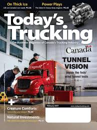 Todays Trucking February 2017 By Annex-Newcom LP - Issuu
