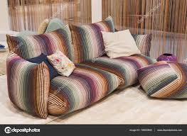 100 Missoni Sofa Couch On Display At HOMI 2017 Stock Editorial