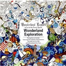 Hanyu Secret Garden Wonderland Exploration Coloring Book For Children Adult Relieve Stress Kill Time Graffiti Painting Drawing 12 Sheets Of Paper Not