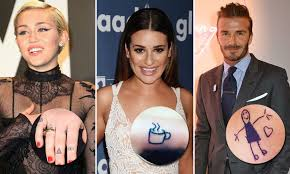 Celebrities Love Tattoos It Gives Them A Chance To Show Off Their Creativity And Honour