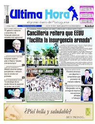 Edici³n 12 05 2017 by Ultima Hora El primer diario de Portuguesa