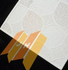 Vinyl Covered Sheetrock Ceiling Tiles by China White Vinyl Covered Gypsum Ceiling Board China Pvc Gypsum