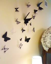 How To Make Boutique Inspired Butterfly Wall Art On The Cheap