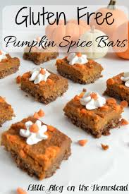 Libbys Pumpkin Oatmeal Bars by Gluten Free Pumpkin Spice Bars