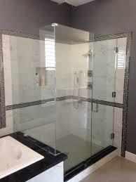 backyards frameless shower doors custom glass atlanta door