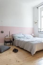 eine rosa wand für das schlafzimmer neue bettwäsche aus
