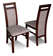 luxus design polster stuhl stühle sitz lehn massivholz esszimmer holz k75 neu