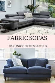 Oasis Darrin Leather Sofa by Best 25 Fabric Sofa Ideas On Pinterest Large Sectional Sofa