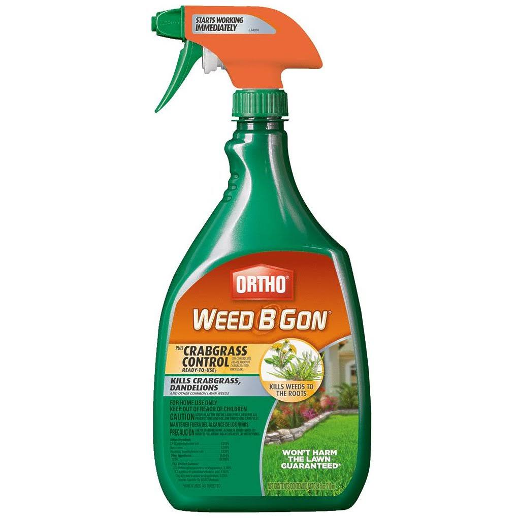 Ortho Weed-B-Gon Plus Crabgrass RTU - 24 oz.