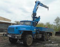 100 Ural Truck For Sale 4320 Crane Trucks Price 33902 Year Of Manufacture 2018