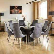 Quatropi Large 1.6 Round Black Oak Dining Set 8 High Grey Dining Chairs 10 Upholstered Ding Chairs Cabriole Legs Lloyd Flanders Round Back Wicker Chair Arenzville Mahogany Wood Pedestal Table With 6 Set Pre Order Aria Concrete Granite Ding Table 150cm 4 Jsen Leather Chair Package Small In White Velvet Pink Rhode Island Kaylee Bedford X Rustic 72 With 8 Miles Round Ding Suite Alice Chairs A334b 1pc And A304 4pcs Patrick Milner Modern Dinette 5 Pieces Wooden Support Fniture New Tyra Glass On Gloss Latte Nova Seater