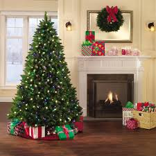 Holiday ShowtimeTM 7ft Pre Lit Northern Lights Artificial Spruce Christmas Tree With Both Warm
