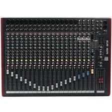 siege audio console allen heath zed 22fx mixer experience south africa