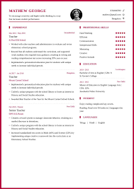 Teacher Resume Format And Resume Example For School Teachers - My ... Teacher Resume Samples And Writing Guide 10 Examples Resumeyard Resume For Teachers With No Experience Examples Tacusotechco Art Beautiful Template For Teaching Free Objective Duynvadernl Science Velvet Jobs Uptodate Tips Sample To Inspire Help How Proofread A Paper Best Of Objectives Atclgrain Format Example School My Guitar Lovely Music Example