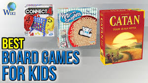 10 Best Board Games For Kids 2017
