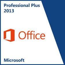 fice & Business MICROSOFT OFFICE 2013 PROFESSIONAL PLUS