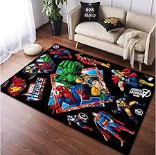 yan teppich anime teppich wohnzimmer schlafzimmer kinderbett wunder spider gemusterte pad boy zimmer farbe rutschfester teppich 70