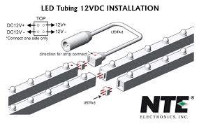 nte electronics led strips ls light bars el wire