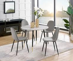 leonique esszimmerstuhl eadwine polsterstuhl mit metallgestell im 2er und 4er set erhältlich beine in schwarz oder eichefarben kaufen