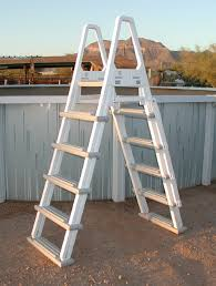 Above Ground Pool Ladder Deck Attachment by Above Ground Pool Ladders