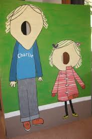 Charlie And Lola Standee