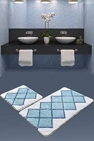 chilai home badematten 2er set 2 teilig badematte badteppich