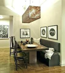 Dining Room With Bench Seating Staggering Benches Back Kitchen Table Backs