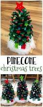 Pine Cone Christmas Tree Ornaments Crafts by Make Adorable Pinecone Christmas Trees For A Christmas Kids Craft