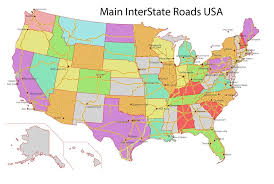 Road Map Of California Pdf United States Highway Globe Usa 49 For 1004 X 675