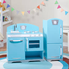 Play Kitchen Sets Walmart by Tips U0026 Ideas Unique Kidkraft Navy Vintage Kitchen 53296 For Your
