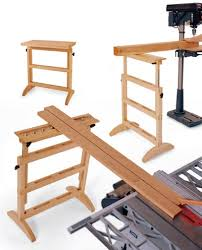 work support stand woodworking plan shop project plan wood