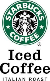 Starbucks Iced Coffee Logo Vector