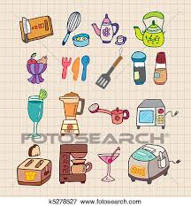 Clip Art Of Kitchen Appliances Icon K5278527