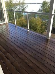 Camo Deck Fasteners Nz by Behr Padre Brown Semitransparent Stain Two Coats Cabin Railing
