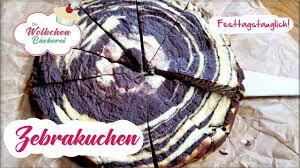 zebrakuchen diät kuchen so einfach selbst machen ww geeignet