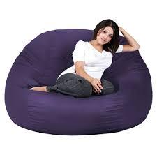 bean bag purple bean bag chairs walmart fuzzy purple bean bag