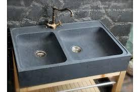 evier de cuisine en évier de cuisine en granit véritable karma