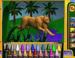 Crayola 3D Magic Coloring Book Screen Shot
