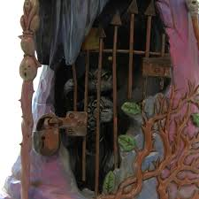 Jim Shore Halloween Ebay by 1 X Jim Shore 4047838 Halloween Witch With Cat Behind Gate 2015