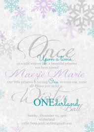 Winter Onederland Party Invitations For The Design Of Your Inspiration Invitation Templates 9