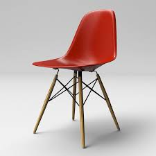 Eames Molded Plastic Chair With Wooden Base 3D Model $18 - .ma .oth ... Eames Wood Lounge Chair Plywood With Base Sothebys Home Designer Fniture Charles And Ray Molded Ding Metal Herman Miller Mlf Scdinavian Design Chair Kevi Wood Base Jrgen Rasmussen With Lcm Vitra In Walnut Black The Shop Replica White Leather