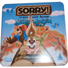 Disneys Splash Mountain Theme Park Edition In Collectible Tin One Of Several Sorry Games I Have