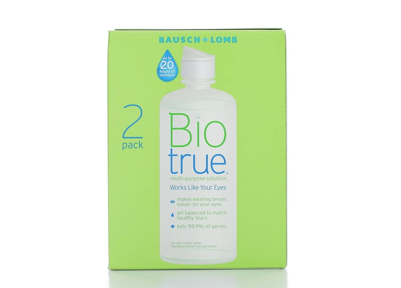 Bausch & Lomb Bio True Multi-Purpose Solution - 20oz, 2 Count