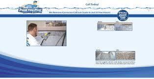 pool tile calcium scale removal las vegas nevada