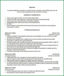 5 store manager resume templates applicationsformat info