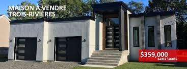 maison a vendre maison a vendre trois rivieres style contemporain moderne