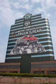 Chrysler Installs Over-the-top Building Wrap Celebrating