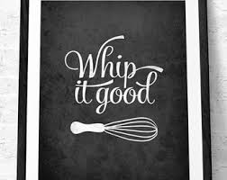 Mothers Day Whip It Good Kitchen Print Wall Art Decor Poster
